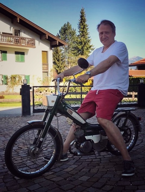 Martin Calsow auf dem Weg zum Schliersee